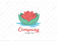 Water flower logo for sale