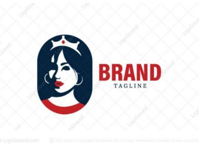 Modern Princess logo for sale