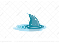 Wizard shark logo