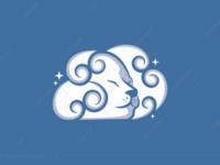 Lion cloud logo for sale