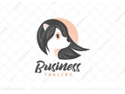 Dog Salon logo for sale