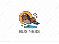 Mandarin duck logo for sale