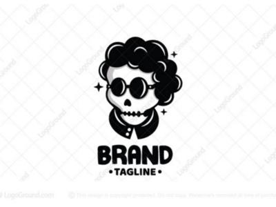 Cool skull logo for sale