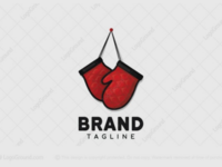 Fighting mitts logo for sale