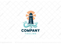 Lighthouse logo for sale
