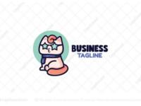 Star Cat logo for sale