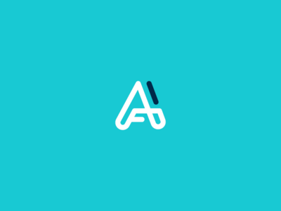 AF monogram logo proposal