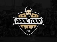 Rabil Tour Logo Design