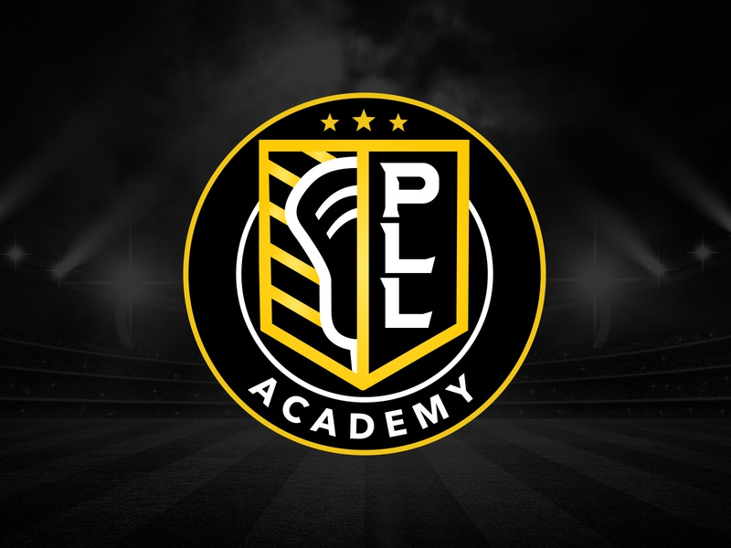 Premier Lacrosse League Academy Logo lacrosse sports branding vector logo design