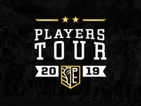 PLL Players Tour Logo