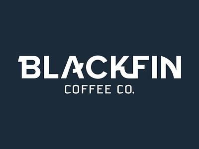 Blackfin Coffee Co. Logo missile coffee logo