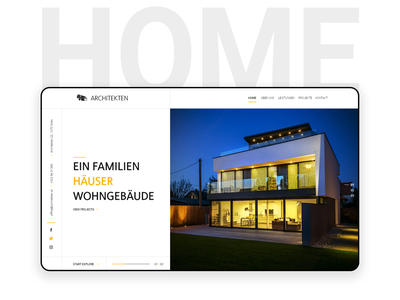 Architecture Website Design dream home architecture website design web ux ui design