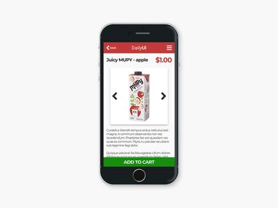 Daily UI #012 - E-Commerce Shop (Single Item)