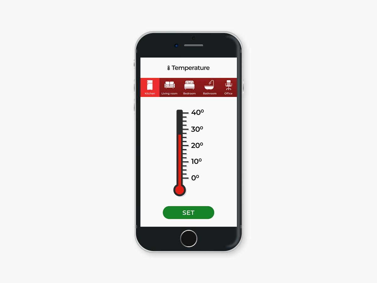 Daily UI #021 -  Home Monitoring Dashboard home monitoring dashboard app user interface ui design dailyui