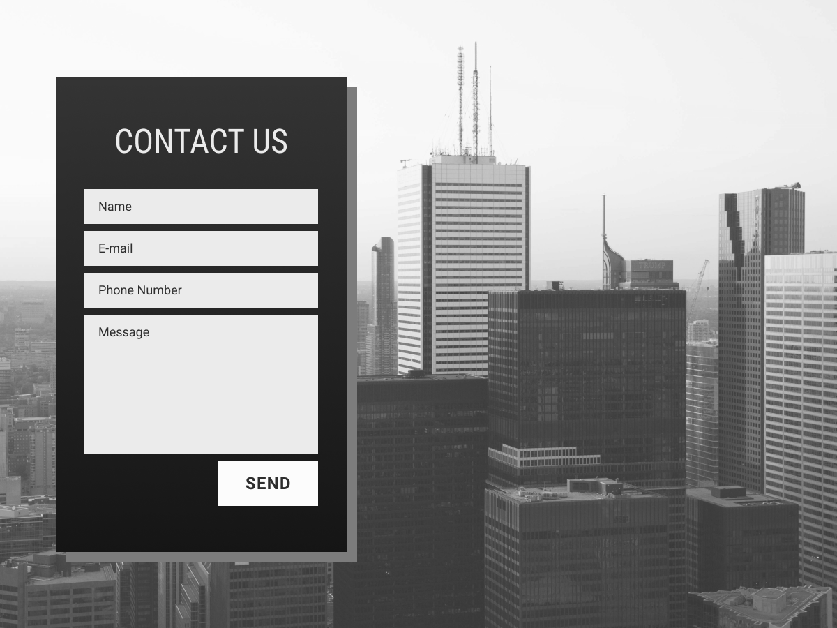 Daily UI #028 - Contact Us contact us page contact us ui web design web web design user interface ui design dailyui