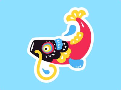 Koinobori japanese illustration vector windsock koinobori carp