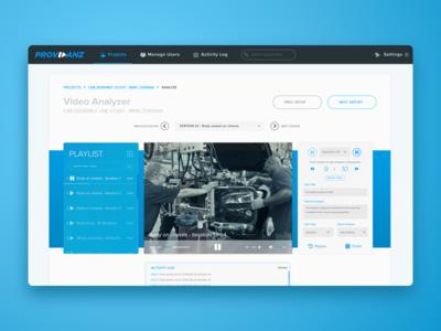 Providanz - Browser-based Video Analyzer
