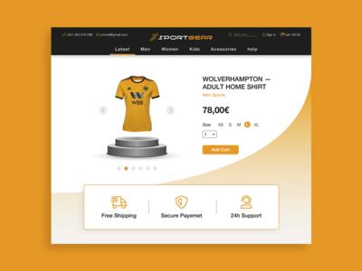 Daily UI Challenge - E-Commerce