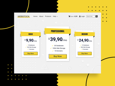 Daily UI Challenge - Pricing