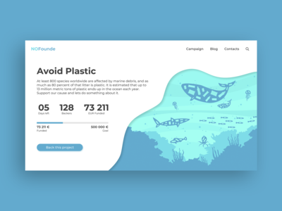 Daily UI Challenge - Crowdfunding Campaign
