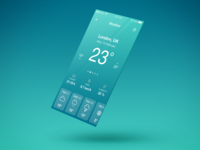 Daily UI Challenge - Weather App