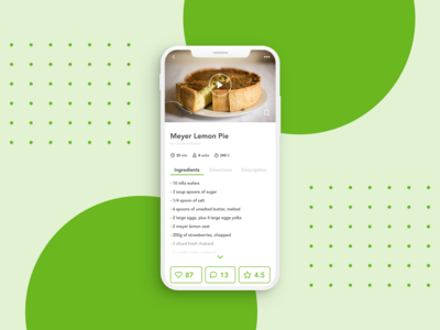 Daily UI Challenge - Recipe App