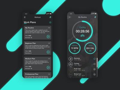 Daily UI Challenge - Sports App