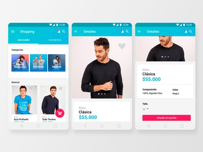 Online store for Material Design