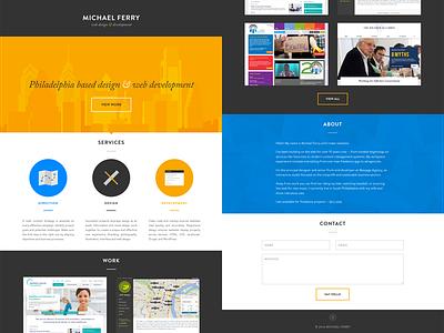 New Year, New Portfolio personal portfolio web drupal web design