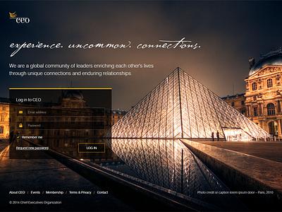 Login Page login web web design