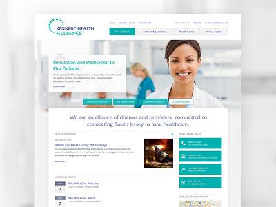 Healthcare Homepage web healthcare homepage web design
