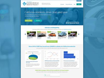 Clean Vehicle Rebate Project car automotive electric hybrid vehicle energy clean website web homepage