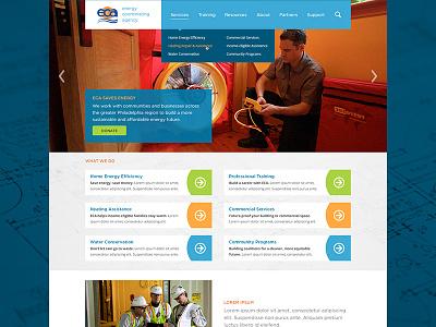 Energy Coordinating Agency energy eca website web homepage