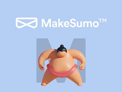MakeSumo logo branding logo