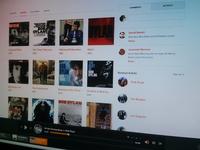 Grooveshark Redesign Concept WIP
