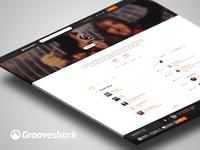 Grooveshark Artist Page WIP
