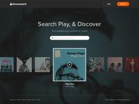 Grooveshark Landing Page WIP