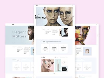 Adios - Creative PSD Template elegant minimal clean one page homepage modern psd creative