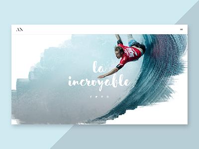 Cover - WIP web design website slider hero ui surfing template webdesign cover