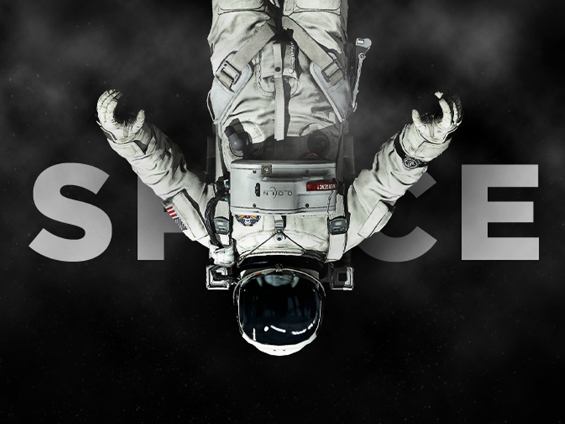 Cover WIP slider cover astronaut space
