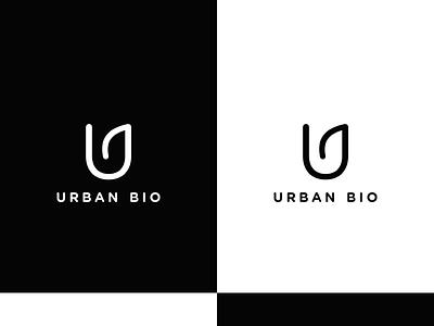Urban Bio Logo/Brand Identity identity logotype logo