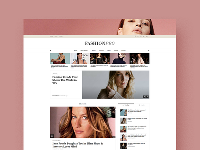 Early look on upcoming theme envato themeforest blog magazine wordpress theme