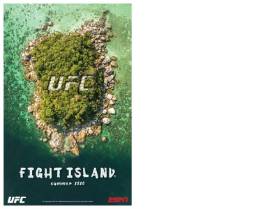 UFC Fight Island 2020 poster poster design poster covid19 fight island ufc