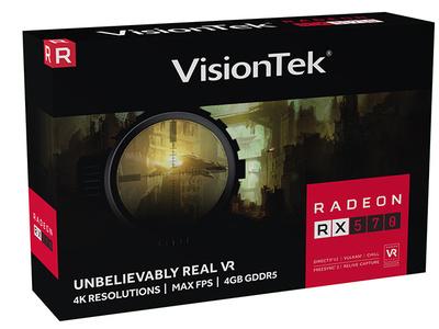 VisionTek Radeon Rx570 package design package design