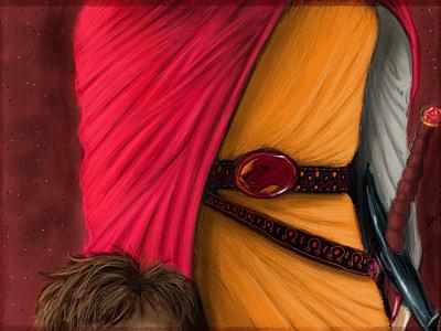 The Brothers Lannister digital 2d freehand illustration art