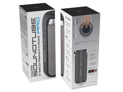 VisionTek Soundtubepro packaging design packaging