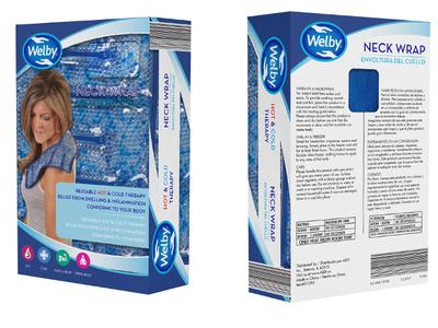 Neck WrapPackaging packaging package design print