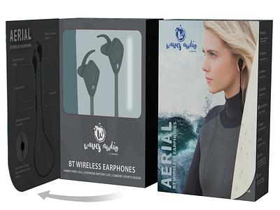 Waves Aerial Packaging concept print packaging design package