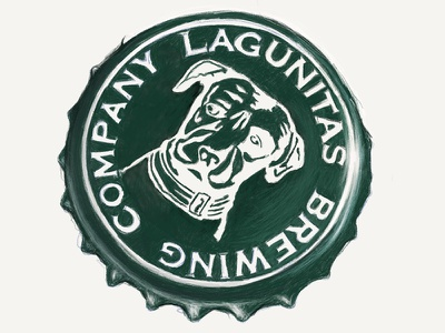 Lagunitas Cap illustration art illustration