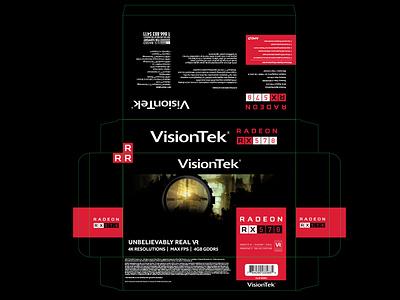 Visiontek Rx570 Packaging packaging design